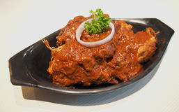 Chicken Masala. Southern Indian spicy dish of Chicken Masala Royalty Free Stock Images
