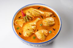 Chicken masala. Indian chicken masala studio shot Royalty Free Stock Photos