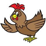 Chicken Mascot Stock Image