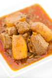 Chicken Massaman Curry Royalty Free Stock Photo