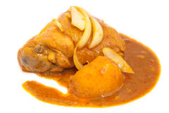 Chicken massaman curry. Royalty Free Stock Photography