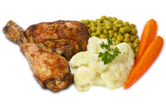 Chicken meal Royalty Free Stock Images