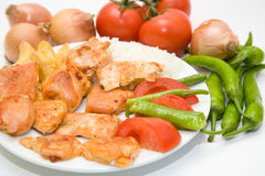 Chicken meal Royalty Free Stock Photo