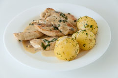 Chicken meal Royalty Free Stock Photography