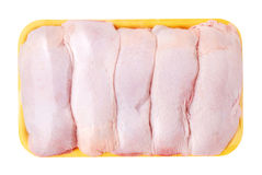Chicken meat package Royalty Free Stock Images