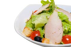 Chicken meat salad Stock Photos