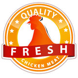 Chicken Meat Sign Royalty Free Stock Image