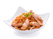 Chicken meat slice Stock Image