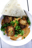 Chicken meatballs Royalty Free Stock Images