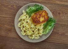 Chicken milanese Stock Image