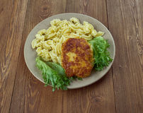 Chicken milanese Royalty Free Stock Photography