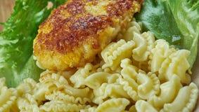 Chicken milanese Stock Image