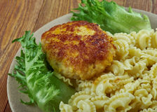 Chicken milanese Stock Images