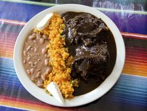 Chicken Mole Royalty Free Stock Images