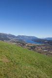 Chicken Mountain View To Lake Millstatt In Spring Royalty Free Stock Images