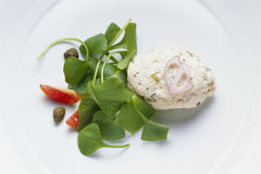 Chicken Mousse Royalty Free Stock Photo