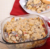 Chicken and Mushroom Casserole Royalty Free Stock Image
