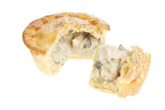 Chicken and mushroom pie Royalty Free Stock Photos