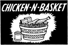 Chicken N Basket Stock Image