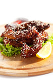 Chicken Necks Royalty Free Stock Photos