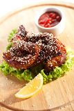 Chicken Necks Stock Photos