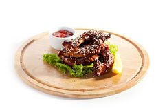 Chicken Necks Stock Photo