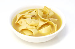 Chicken Noddle Soup Royalty Free Stock Photos