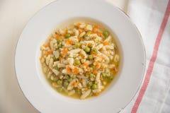Chicken Noddle Soup Stock Photos