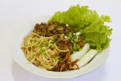 Chicken noodle Stock Photos
