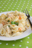Chicken & Noodle Casserole Stock Photos