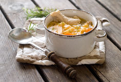 Free Chicken Noodle Soup Stock Photography - 30892722