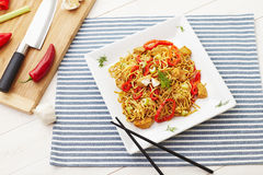 Free Chicken Noodles Royalty Free Stock Photos - 47807218