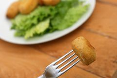 Chicken nugget Royalty Free Stock Photos