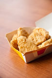 Chicken Nugget in Box Stock Photos