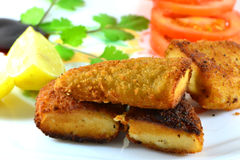 Chicken nugget dish Stock Photos