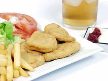 Chicken nuggets Stock Image