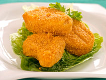 Chicken Nuggets Stock Photos