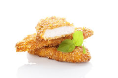 Chicken nuggets. Royalty Free Stock Photography