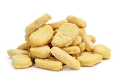 Chicken nuggets Royalty Free Stock Photos