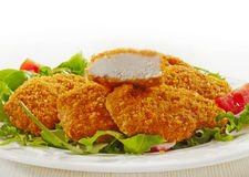 Chicken nuggets Stock Photography
