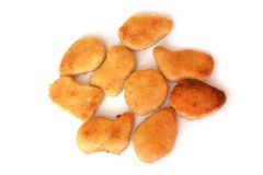 Chicken nuggets. Stock Image