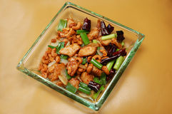 Chicken with nuts Stock Photos