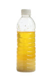 Chicken oil. In bottle isolated on white background Stock Image