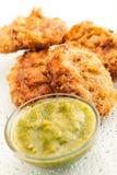 Chicken Or Potato Cutlet Royalty Free Stock Photos