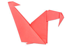 Chicken origami Stock Images