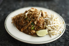 Chicken Pad Thai Royalty Free Stock Image