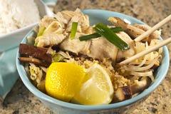 Chicken Pad Thai Stock Photos