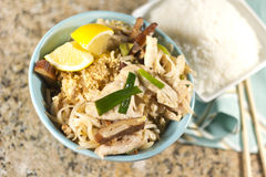Chicken Pad Thai Stock Images