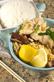 Chicken Pad Thai Royalty Free Stock Photography