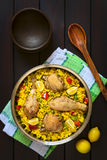 Chicken Paella Royalty Free Stock Photo